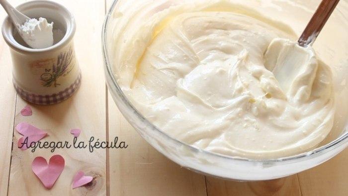 fécula de maíz para hacer Cheesecake de frambuesa y limón