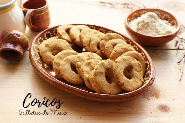Receta de Coricos de Maíz o Galletas de Sinaloa