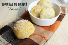 Sapitos de harina o gorditas dulces: Receta para acompañar el atole