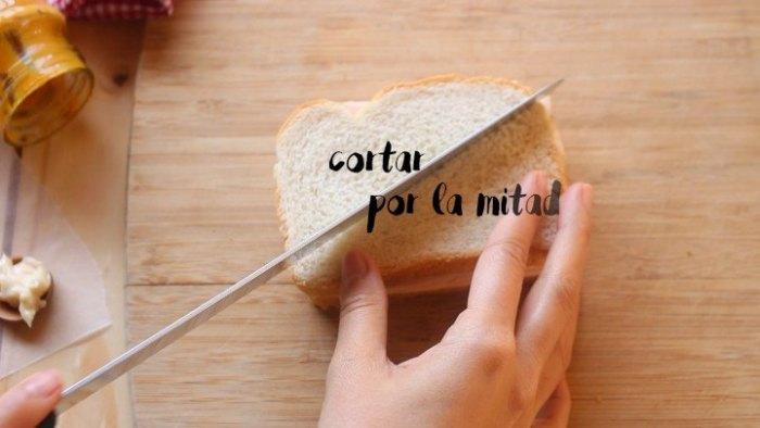 rebanadas de pan para hacer Sándwich Montecristo
