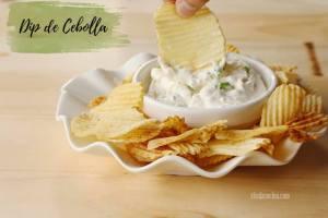 Aderezo de cebolla casero | Dip de de Crema y Especias para Sabritas o Snaks