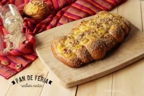 Pan de Nata o Pan Estilo Feria: Panadería Mexicana. Receta + Vídeo