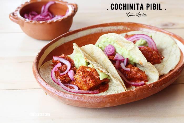 ▷ cochinita pibil: receta fácil en olla lenta o slow cooker