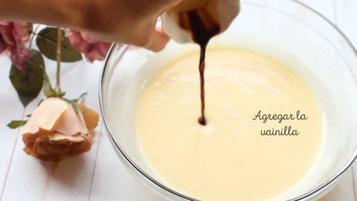 vainilla para hacer rosca de yogur