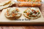 Ceviche de Sierra: Cocina Mexicana de Verano. Receta + Vídeo