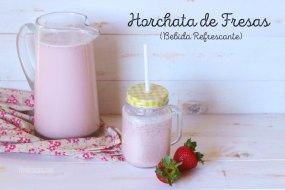 Horchata de Arroz con Fresas: bebida refrescante mexicana. VideoReceta