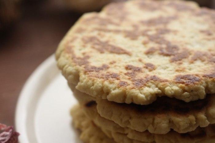 Gorditas dulces hechas en casa y listas  para comer
