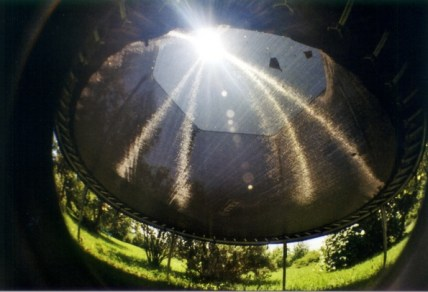 Trampolin through a Fisheye (2009)