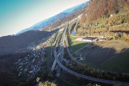 A9 heading North (Graz, 2013)
