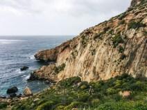 Dingli Cliffs bei Ghar Lapsi. Malta, 2015