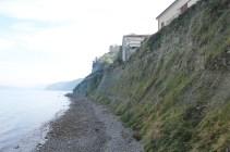 Die Adria-Küste unter Piran. 2015