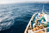 DIe Überfahrt mit der Fähre von Malta nach Gozo.