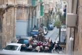 Prozession in der Karwoche durch die Straßen Valettas