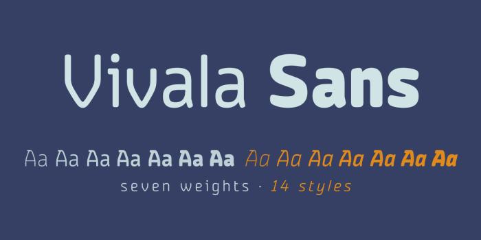 Vivala Sans Round