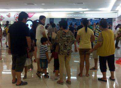 Family day out with Doraemon