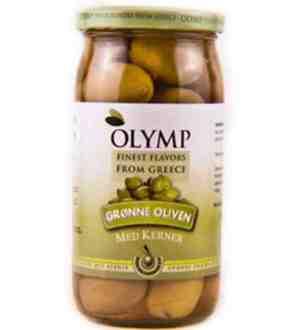 Olymp Gronn Oliven 500G