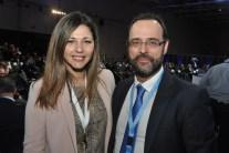 Με τη Σοφία Ζαχαράκη, αναπληρώτρια εκπρόσωπου Τύπου της Ν.Δ.