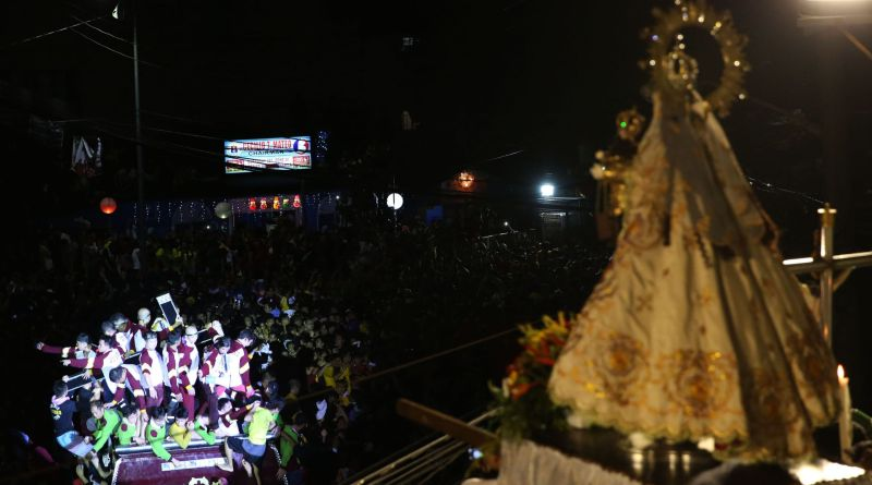 Dungaw Virgin Mary and Black Nazarene