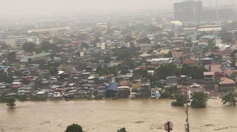 Water level in Marikina River surpassed Ondoy level