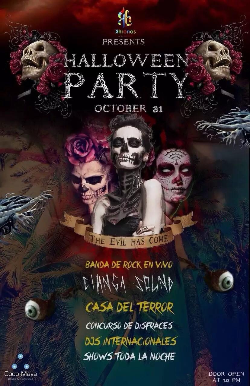 Halloween Party @ Coco Maya – Viva Playa