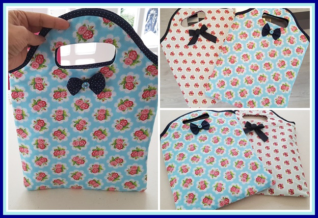 Bolsa De Mão De Tecido Como Fazer : Passo ? bolsa sacola de tecido vivartesanato