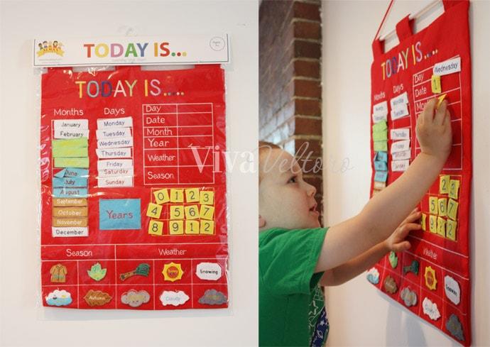 Almas Designs Childrens Calendar