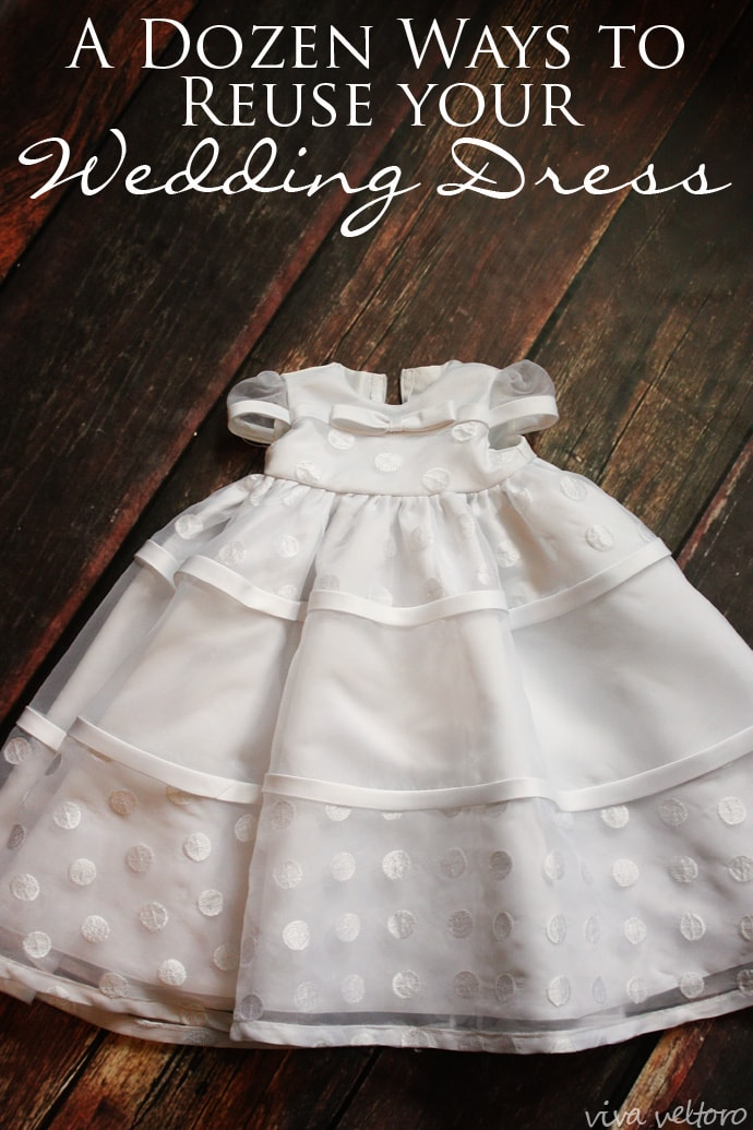 What I Did with My Wedding Dress: A Blessing Gown for My Daughter