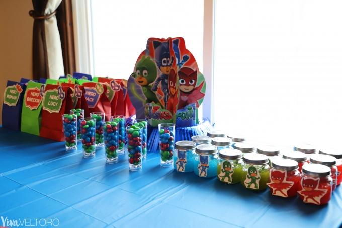 Pj Masks Party Supplies Diy Birthday Ideas Viva Veltoro