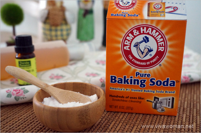 whiter teeth overnight - Baking soda for teeth whitening