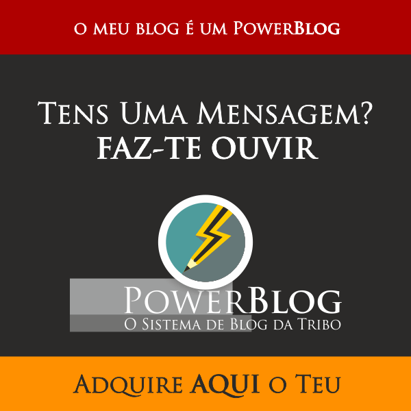 O meu Blog é um Power Blog