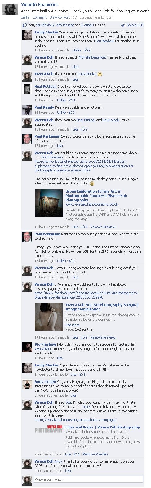 Aperture Woolwich FB screengrab