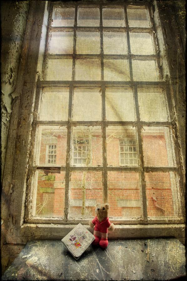 derelict Hellingly Asylum, West Sussex