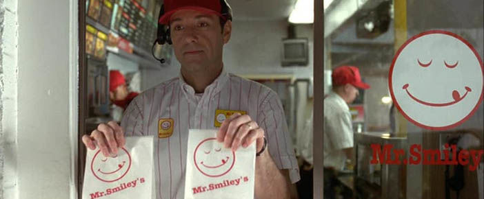 Mr smiley dans American Beauty