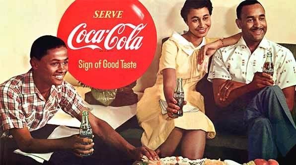 coca1955 L'image des noirs dans la publicité : 100 ans de racisme ?