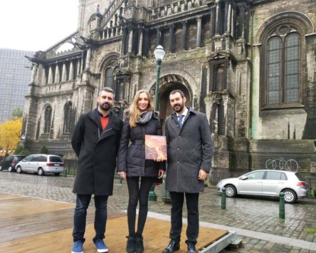 Reunió amb Felipe Formariz, director de l'Oficina de Turisme a Brusel·les (TurEspaña)