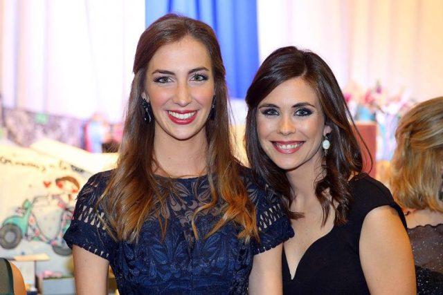 Raquel Alario Bernabé y Laura Caballero Molina, Falleras Mayores de Valencia 2017 y 2011, respectivamente. Fotografía: Armando Romero
