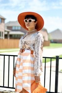 Styling Asymmetric wrap skirt, Fall fashion take