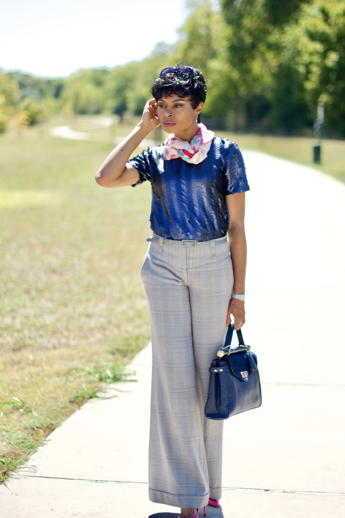 Style sequins as work wear (like a Pro) Posted by Vivellefashion