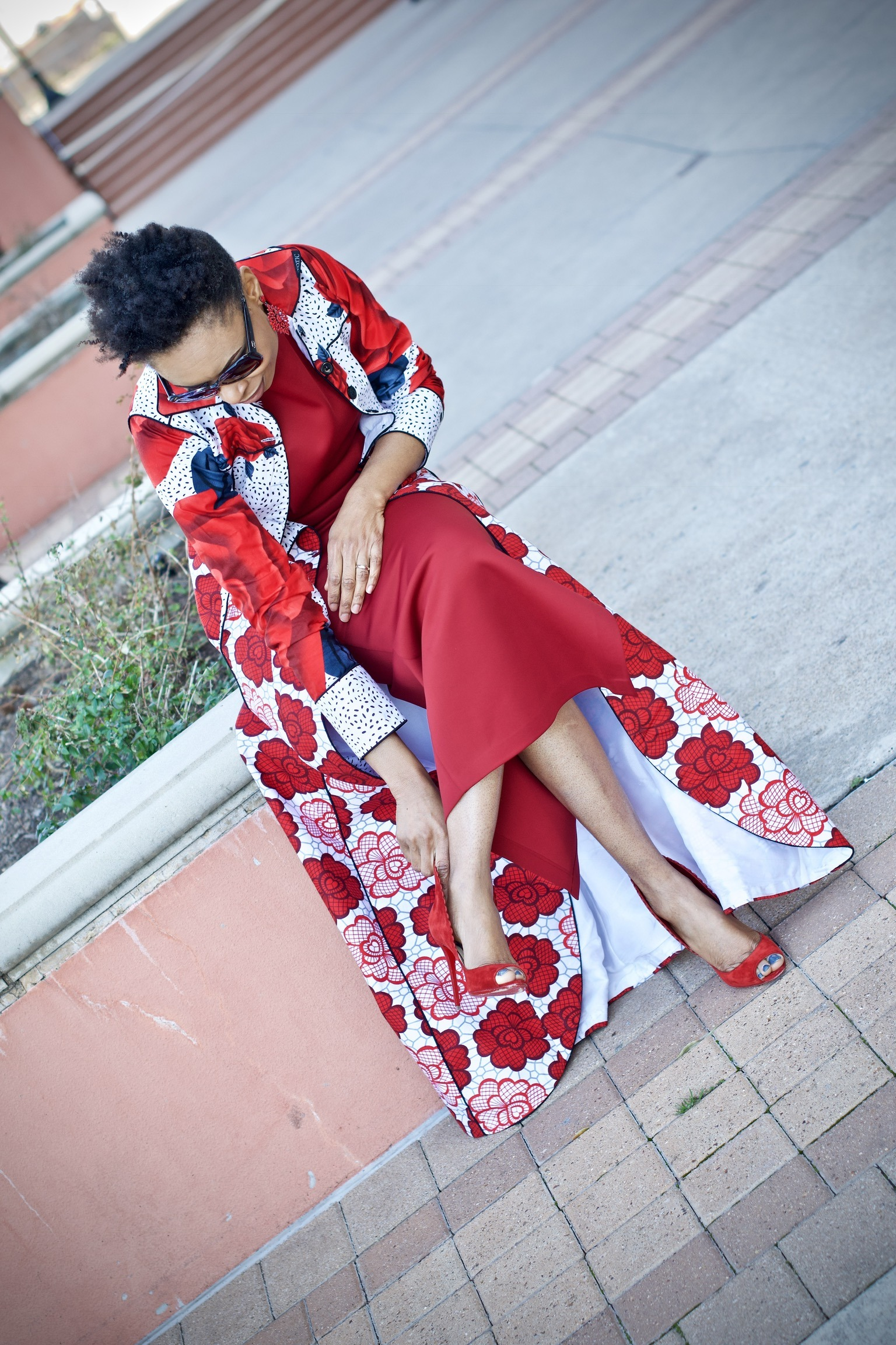 Valentine's Day + Date Night dress