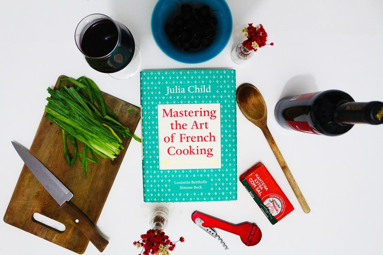Cozinhando as receitas da Julia Child