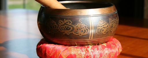 Massagem de Som (Taças Tibetanas)
