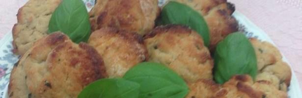 Biscoito de Azeite, Limão e Manjericão