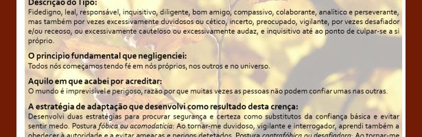 JORNADA PELOS TIPOS DE ENEAGRAMA – ENEATIPO 6