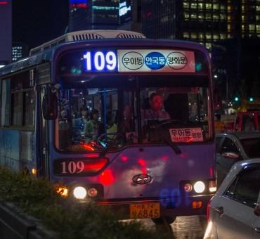 Transporte público – tudo sobre os ônibus em Seul