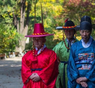 O Palácio Deoksugung em Seul