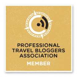 Membro da Professional Travel Bloggers Association