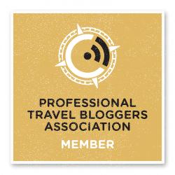 Membro da Professional Travel Bloggers Association