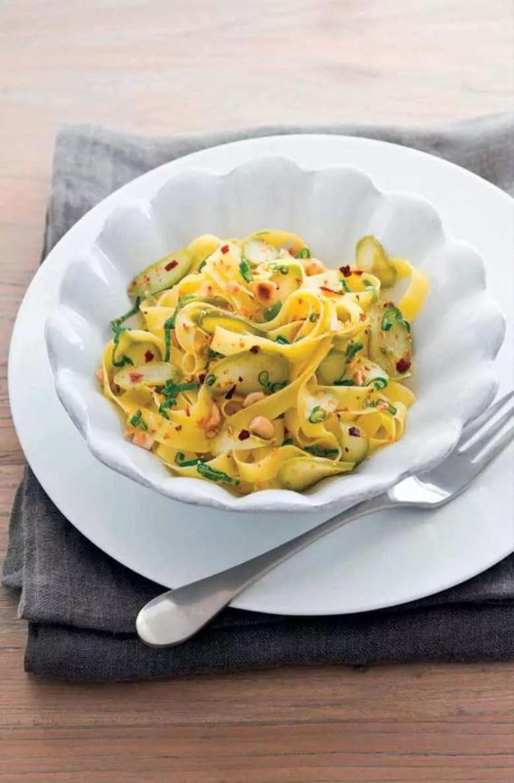 Ricetta-scarto-asparagi-tagliatelle con asparagi
