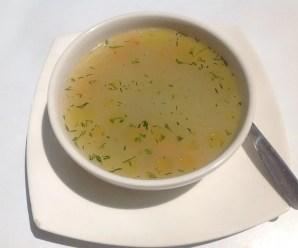 Ricetta del brodo di verdure ma con ricetta di mare
