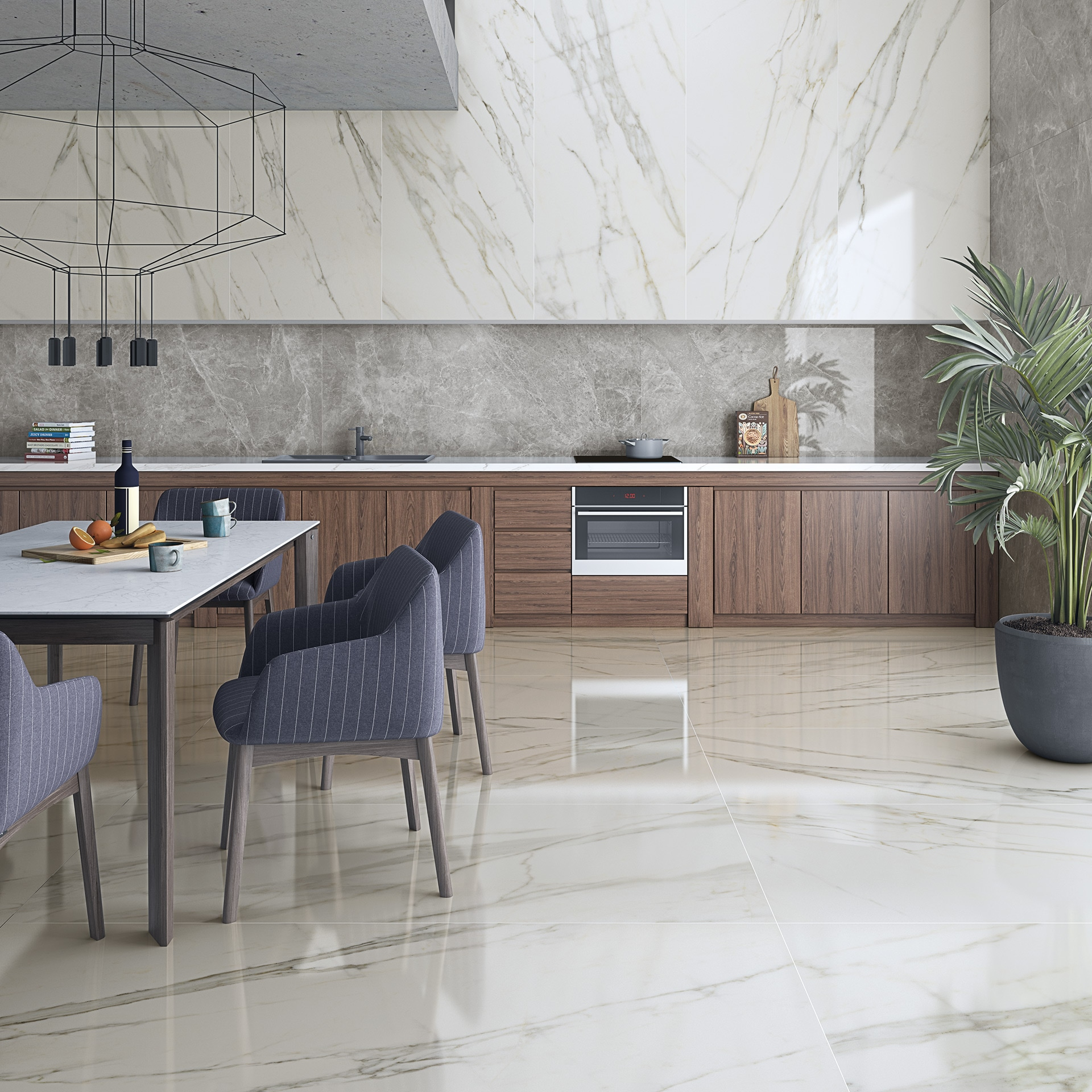 all the advantages of marble look